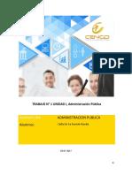trabajo 1 administracion publica