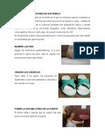 Creencias y tradiciones de Guatemala