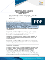 Guia de actividades y Rúbrica de evaluación - Tarea 3 - Solución de modelos de programación lineal de optimización (1)
