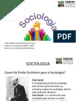 Aula 02 - Clássicos da Sociologia
