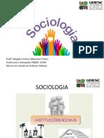 Aula 06 - Instituições Sociais