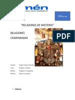 Religiones de Misterio SERGIO