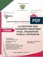 REDACTION DE MON RAPPORT DE STAGE 2019