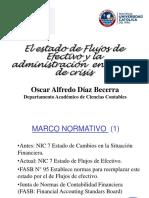ESTADO DE FLUJOS DE EFECTIVO Dr. Oscar Díaz Becerra