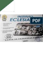 Banco Preg. Filo-Psico, Instituto Eclesiáste