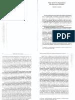 Lombardi, G - Singular, particular, singular. Cap 3 Nota sobre los diagnósticos difíciles en psicoanálisis