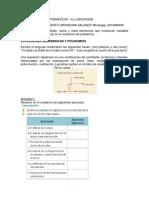 GUIA 1 GRADO 9B MATEMATICAS POLINOMIOS