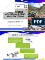 4. Investigación Arquitectónica