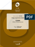 CODEX HTML et Dreamweaver
