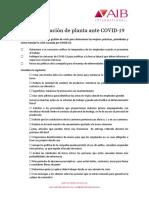 COVID19 Checklist_ES