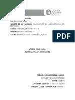 TAREA CAPITULO 1 FINANZAS ADMINISTRATIVAS 2