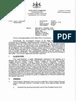 Todd Burkhart Ethics Commission Ruling 7.1.20