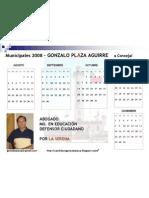 Calendario GPA 3 2008 ffpf