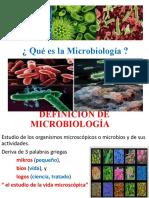 INTRODUCCION A LA MICROBIOLOGIA (Diapositivas)