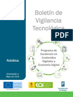 L 6 Boletín de Vigilancia Tecnológica -  Robotica 2015  España  - No cap. 6.pdf