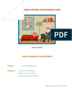 Trabajo de psicoterapia III