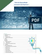 Guía de Aprendizaje Generación de Empresas I
