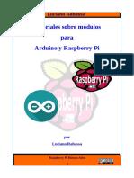 Tutoriales sobre Modulos para Arduino y Raspberry Pi