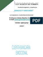 La Competencia  y Cuenta Bancaria Emocional