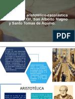 Filosofía aristotélico-escolástica del siglo XIII, San Alberto