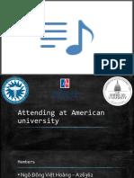 Attending at American university.pptx