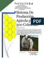 PROYECTO APICOLA LOS YOPALES 500 COLMENAS
