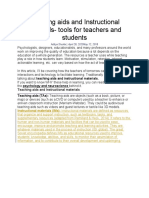 Teaching aids and Instructional materials.docx