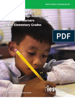 Effective Literacy IES Practice Guide