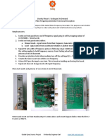 Stanley a Meyers Analysis and Test Results of Gated Pulse Frequency Generator Functional Description