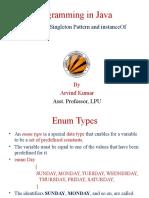 Enum__Singleton Pattern_InstanceOf.ppt