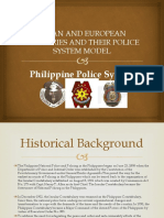 ASEAN AND EUROPEAN COUNTRIES AND THEIR POLICE SYSTEM -Philippines.pptx