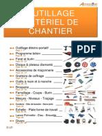 Chap 11 - Outillage, Matériel de Chantier