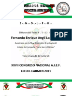 convocatoria congreso nacional ajef carmen 2011