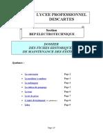FICHE HISTORIQUE  DE MAINTENANCE.doc
