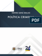 Politica criminal Nieves Sanz Mulas (2019)