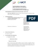 Prestación de Servicio Social Universitario - SSU VII Y VIII