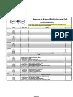 bmbcc 2020-21 programme