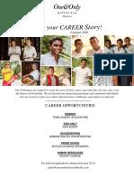 We Create Joy - Career Poster - 29 Jul 2020