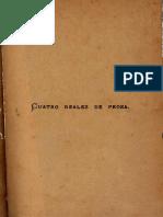 Cuatro reales de prosa