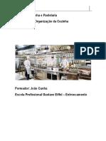 UFCD 8283 organização cozinha
