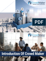 Crowd Maker Plan Presentation in English PDF