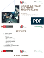 VARIABLES QUE INFLUYEN EN EL TOSTADO INDUSTRIAL DE CAFÉS ESPECIALES