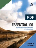 E100 Sermon Outlines