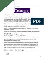 Popularbingosites.co.Uk-Club 3000 Bingo