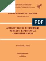 Administracion de Recursos Humanos Experiencias Latinoamericanas.pdf