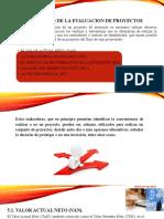 5. Desarrollo de La Evaluacion de Proyecto