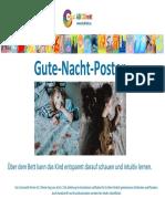 ABCDirekt Gutenacht-Poster für intuitives Erkennen von Handschrift und Blockbuchstaben