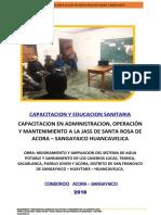 EDUCACIÓN Y CAPACITACIÓN SANITARIA