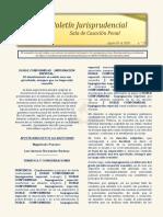 Boletin Jurisprudencial 2020-08-03