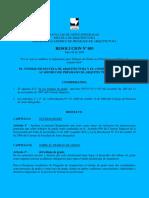 Resolucion 003 Reglamento Trabajos de Grado julio 9-2008 rev PBG 2011